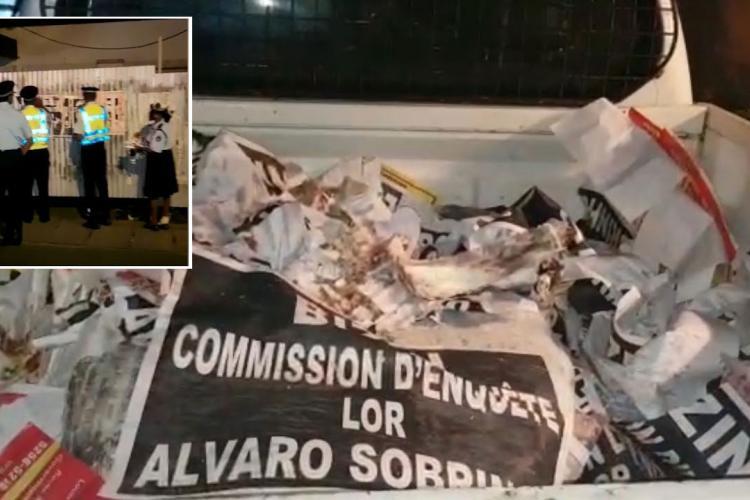 alvaro mauritius poice, labour party